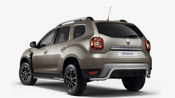 Renault DUSTER - Front, rear and side style bars