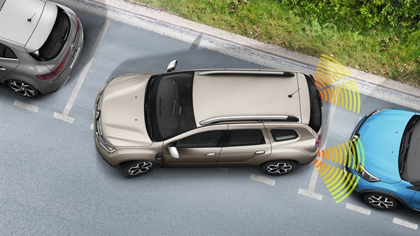 Renault DUSTER - Parking distance control