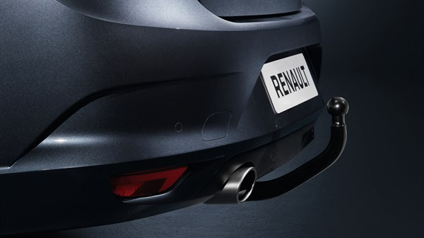 Renault MEGANE Sedan - Tool-free removable towbar